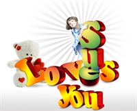 Picture of (3D) I Love you !