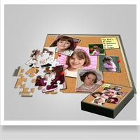Picture of Puzzle - Cork Board effect
